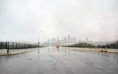 A Normal Wet Rainy Day in Saint Paul