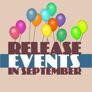 2012 Almanac book release events in September: Fundraiser (8th) & Party (15th)