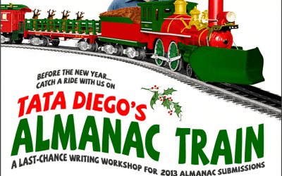 Dec 14: Join Tata Diego for a ride on the Almanac Train!