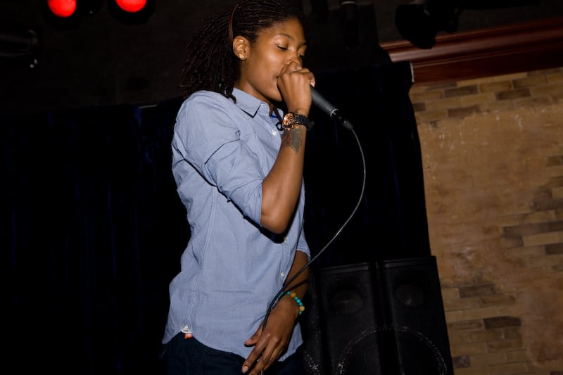 August 2, 2012 – Soul Sounds Open Mic & writing workshop with The Lioness