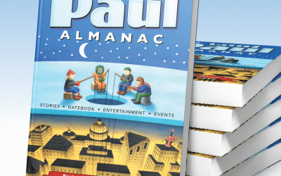Sept 13, 2012: Join us at the 2013 Saint Paul Almanac Book Release Party!