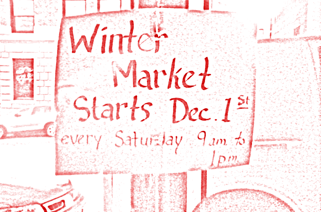 The Winter Saint Paul Farmers' Market opens on December 1st!
