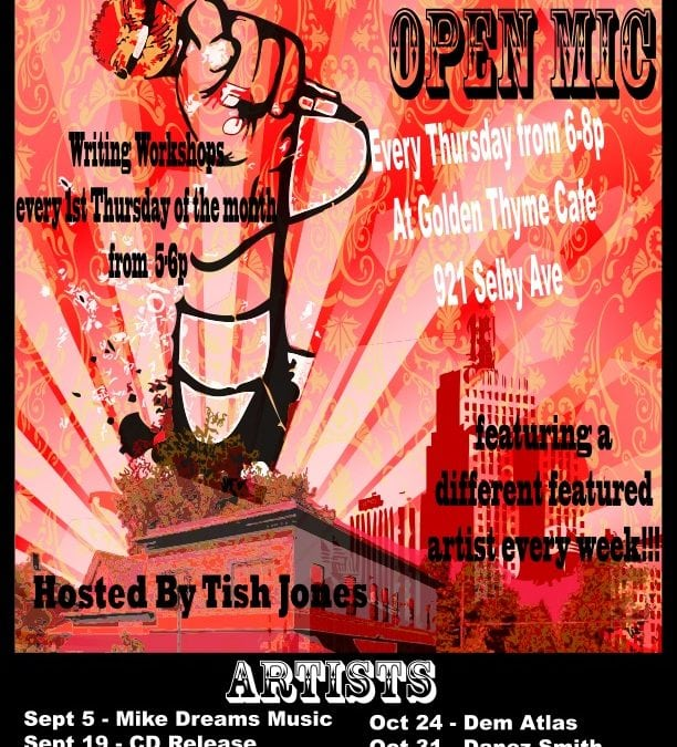 Soul Sounds Open Mic 4th quarter events announced