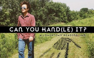 """February 26, 2014: Chay Douangphouxay presents """"CAN YOU HAND(LE) IT?"""" at the Lowertown Reading Jam"""