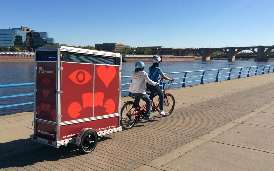 Storymobile Brings People-Powered Storytelling to the Streets of Saint Paul