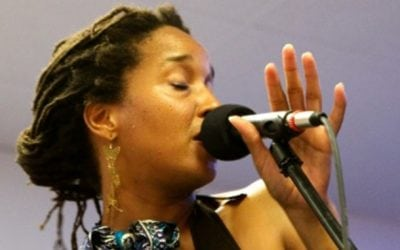 """July 23rd 2014: Mankwe Ndosi presents """"Dreams for the Beginning of the Beginning"""" at the Lowertown Reading Jam"""