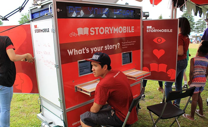 October 4th, 2014 – Soul Sounds Open Mic – with the Storymobile