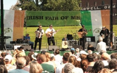 Ironic Meetings of Ghosts at the Irish Fair of Minnesota on Saint Paul's Harriet Island