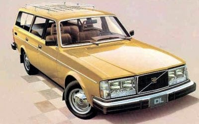 This One Is Not Hers: 1989 Golden 240 Volvo Station Wagon