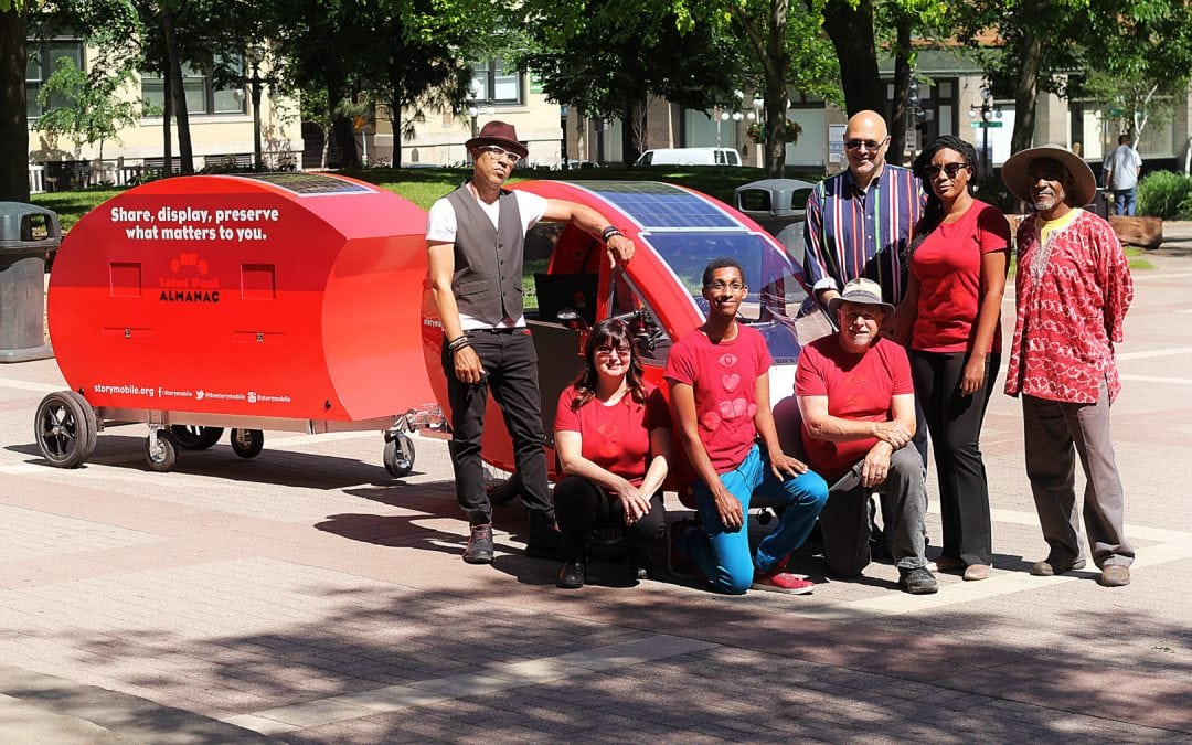 New and Improved Storymobile 2.0 Brings Better People-Powered Storytelling to the Streets of Saint Paul