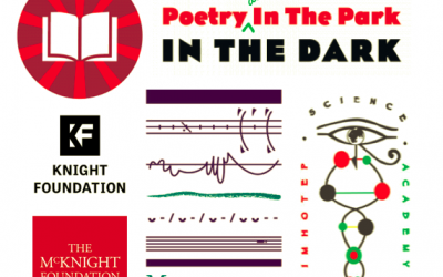 Poetry in the Park in the Dark — Selected Poets and Artists