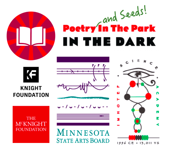 Poetry and Seeds! in the Park in the Dark