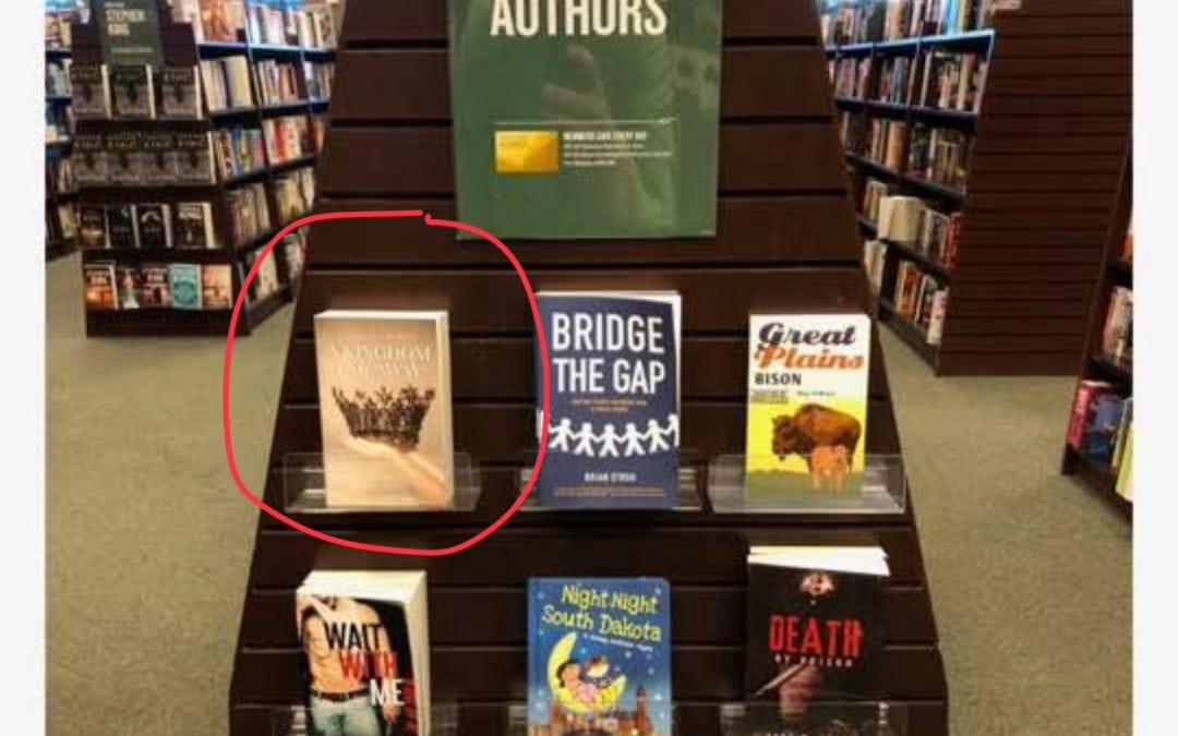 Booksigning in Barnes and Noble in Sioux Falls SD