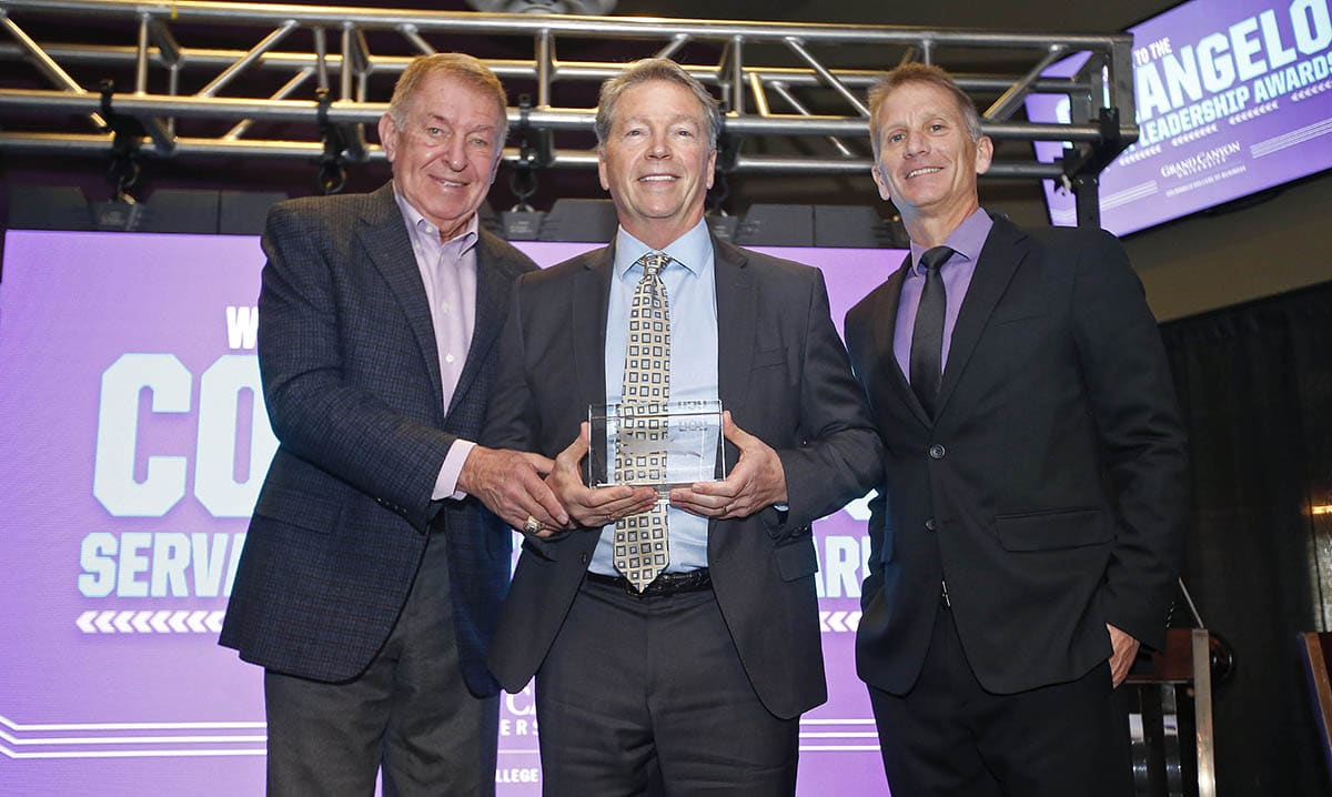 Colangelo Servant Leadership Award, hosted by Grand Canyon University's Colangelo School of Business.