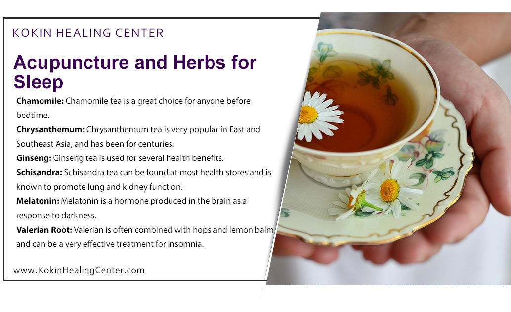 Acupuncture and Herbs for Sleep