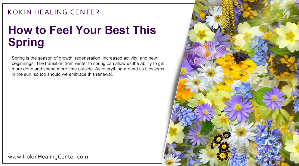 How to Feel Your Best This Spring