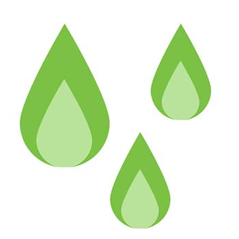 water damage inspection icon
