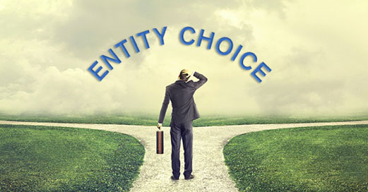 Choosing a business entity type