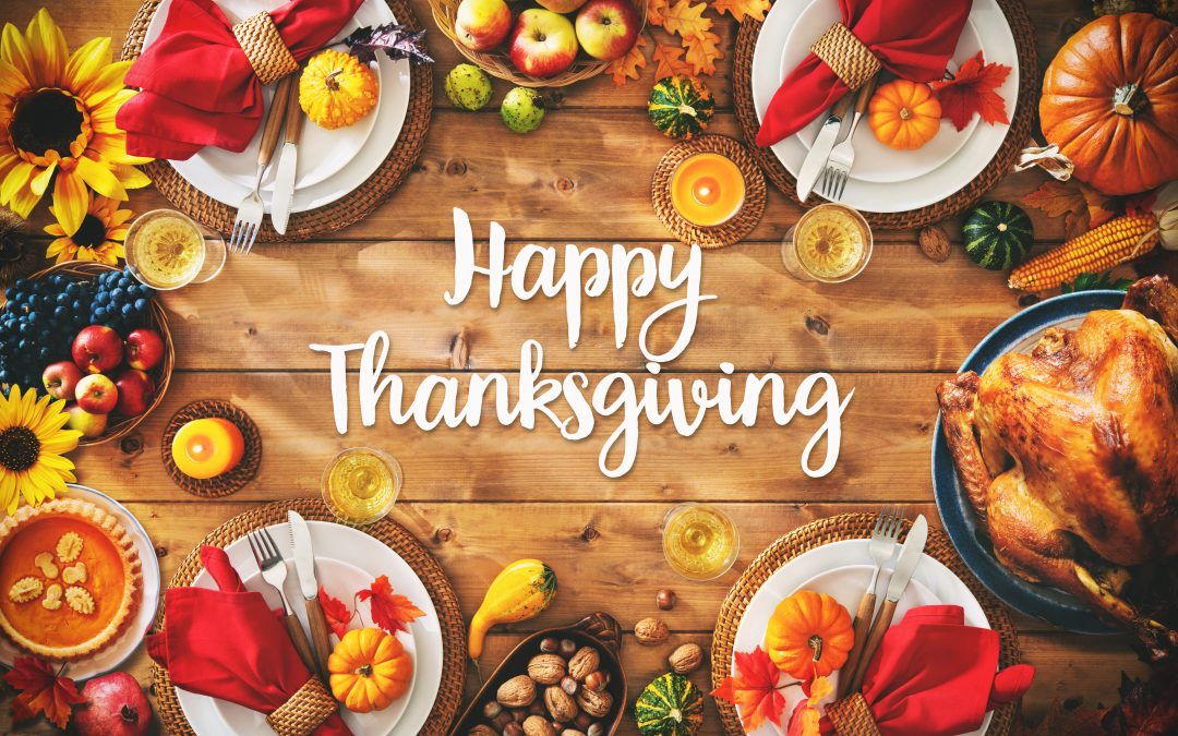 Our offices will be closed in observance of Thanksgiving