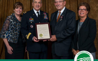 Barry Hart Honored with Conspicuous Service Medal