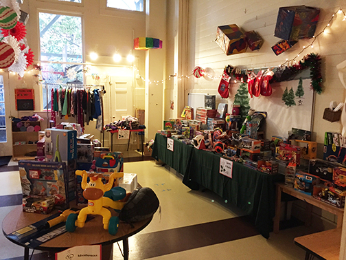 Safe & Sound Holiday Toy Store