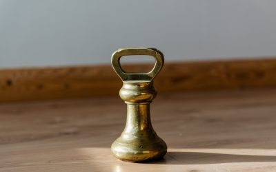What's in a 7lb Brass Bell Weight?