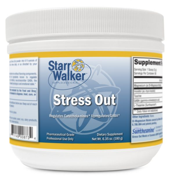 Stress Out (60 Svgs.) (Cherry or Unflav.)