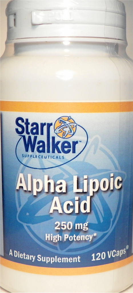 Alpha Lipoic Acid 250 mg. (120 ct.)
