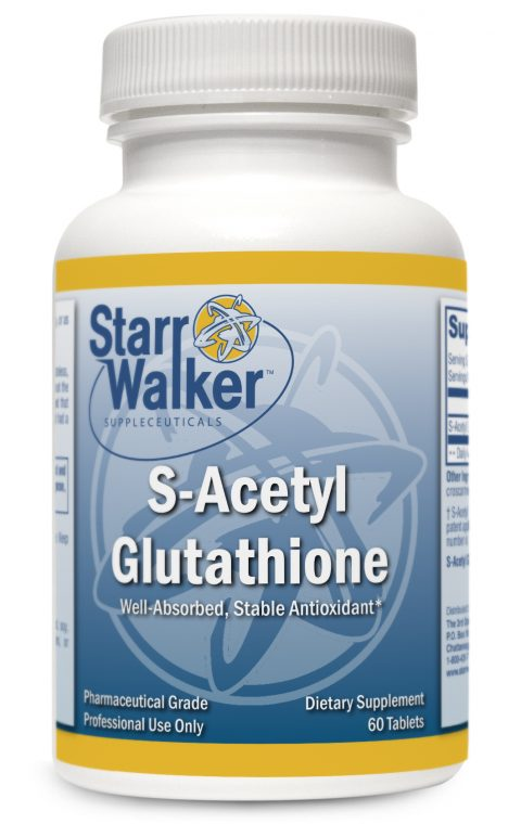 S-Acetyl Glutathione (60 VCaps or 120 caps)