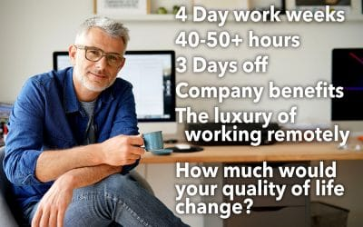 How much would your quality of life change?