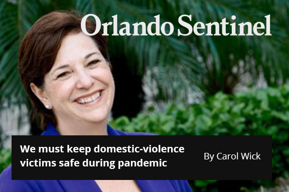 We must keep domestic-violence victims safe during pandemic
