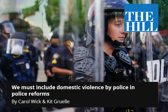 We must include domestic violence by police in police reforms