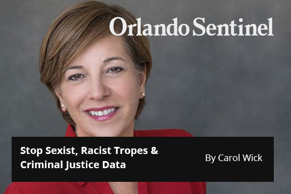 Central Florida 100: Stop Sexist, Racist Tropes & Criminal Justice Data