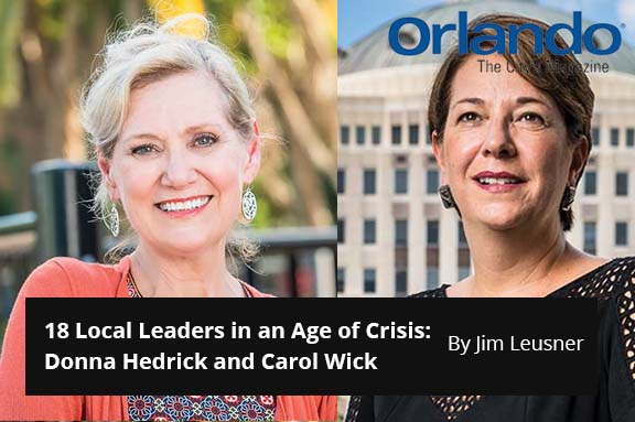 18 Local Leaders in an Age of Crisis: Donna Hedrick and Carol Wick
