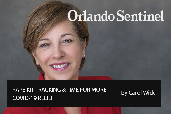 Central Florida 100:  RAPE KIT TRACKING & TIME FOR MORE COVID-19 RELIEF