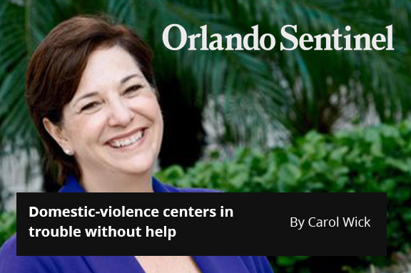 Domestic-violence centers in trouble without help