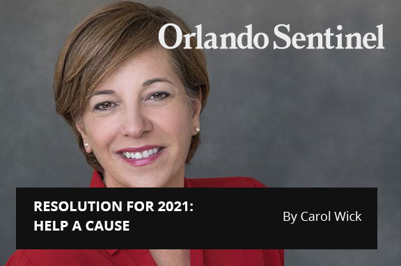 Central Florida 100:  Resolution for 2021: HELP A CAUSE