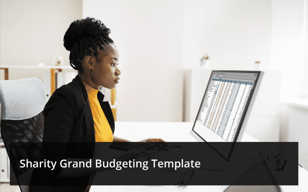 Sharity Grant Budgeting Template(Excel Sheet)