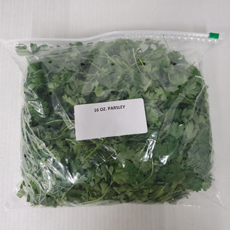food service parsley 16oz