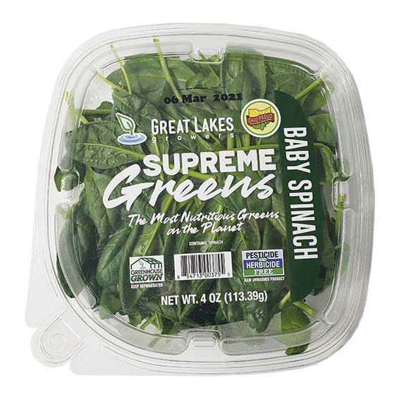 Supreme Greens Baby Spinach