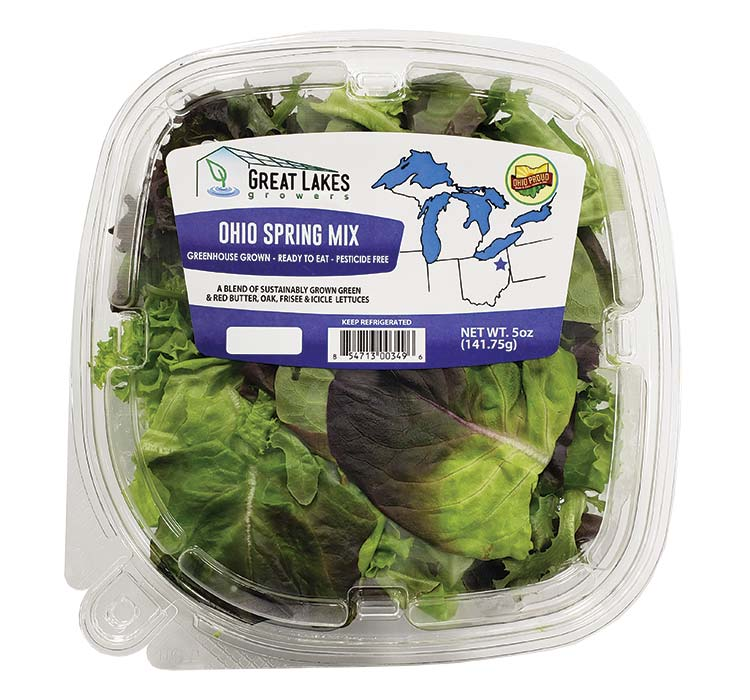 Great Lakes Growers Ohio Spring Mix