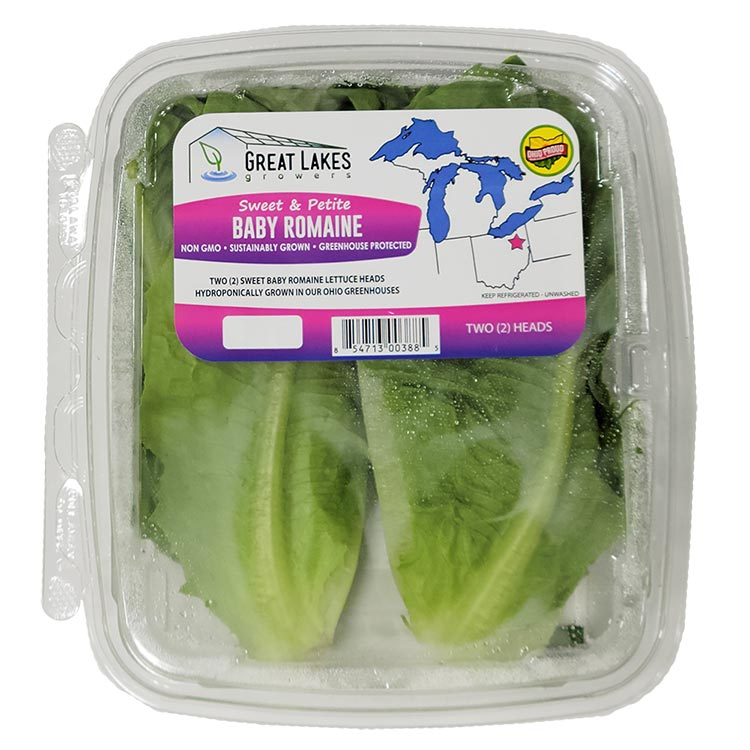 Baby Romaine by Great Lakes Growers