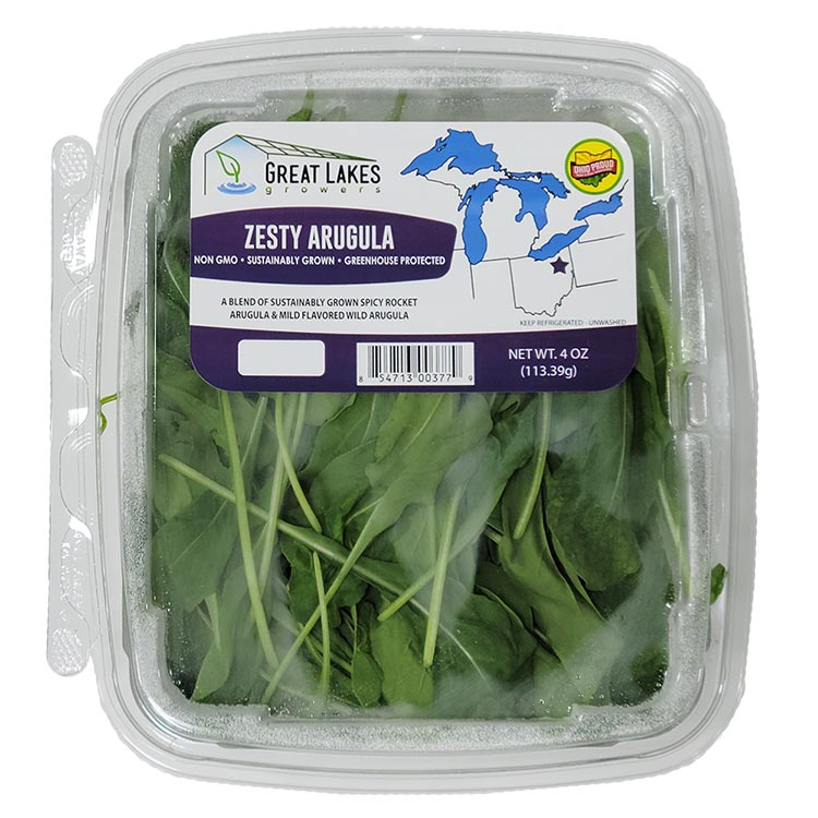 Zesty Arugula by Great Lakes Growers
