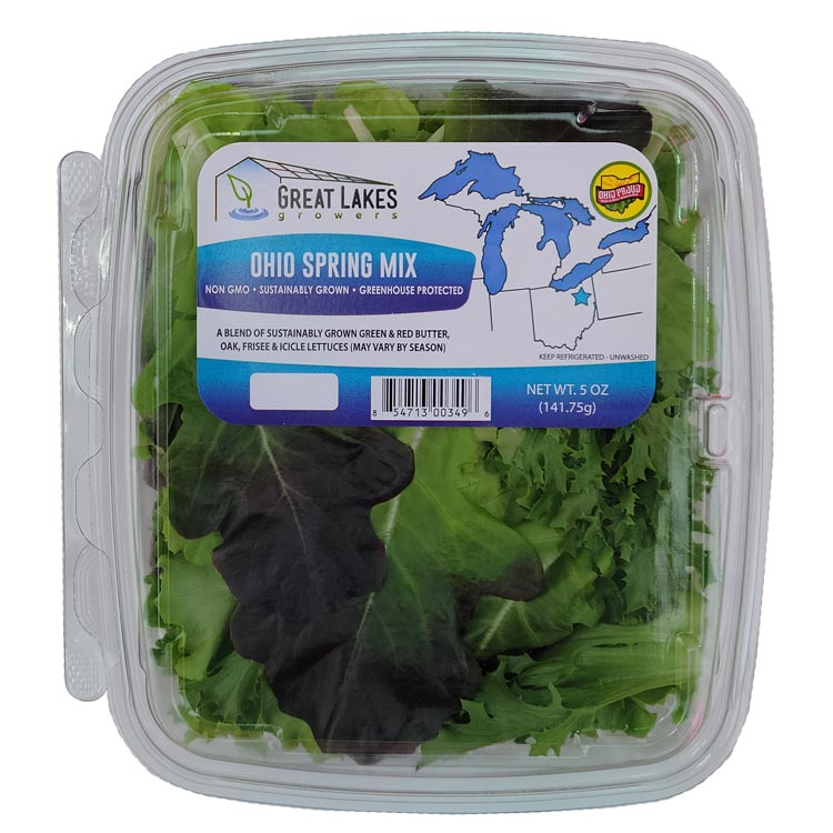 Ohio Spring Mix by Great Lakes Growers