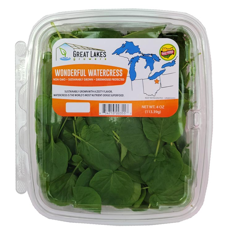 NEW wonderful watercress by Great Lakes Growers