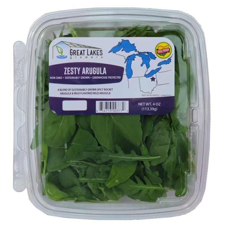 NEW Zesty Arugula by Great Lakes Growers