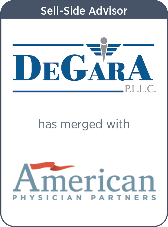 DeGarA has merged with American Physician Partners