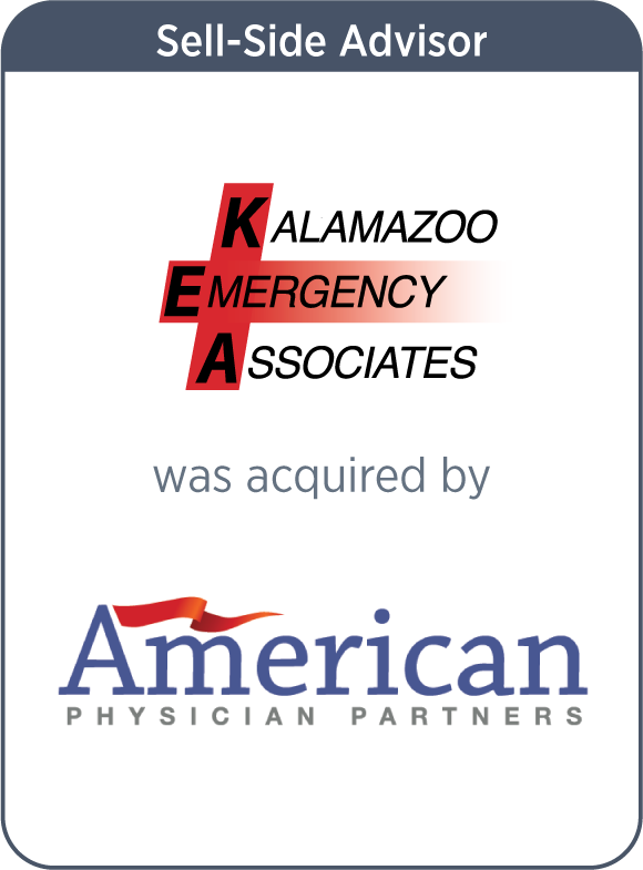 Kalamazoo Emergency Associates is acquired by American Physician Partners