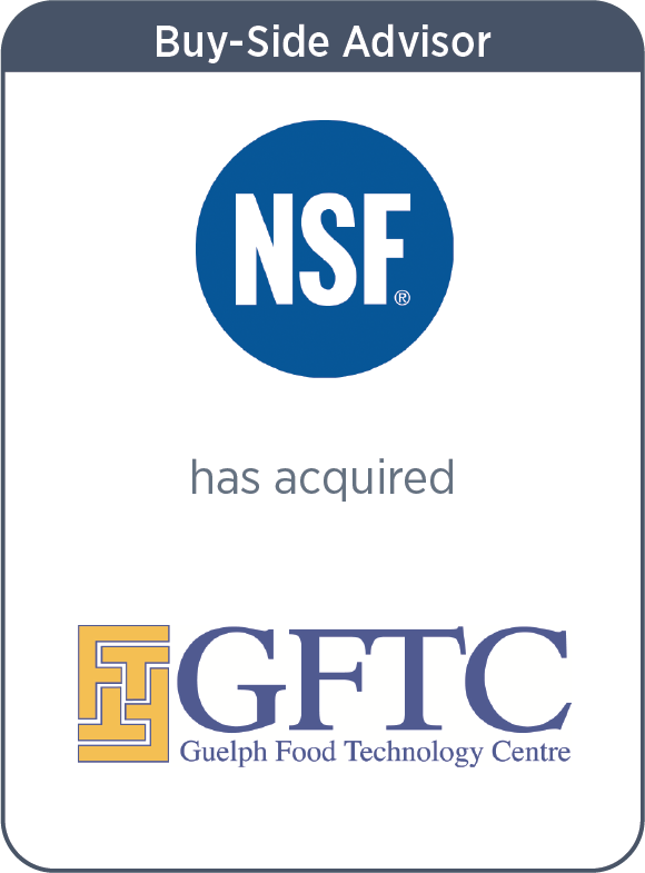 NSF Has Acquired Guelph Food Technology Centre