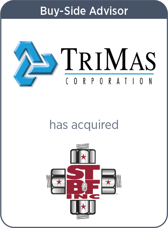 TriMas Corporation acquired South Texas Bolt & Fitting Inc.